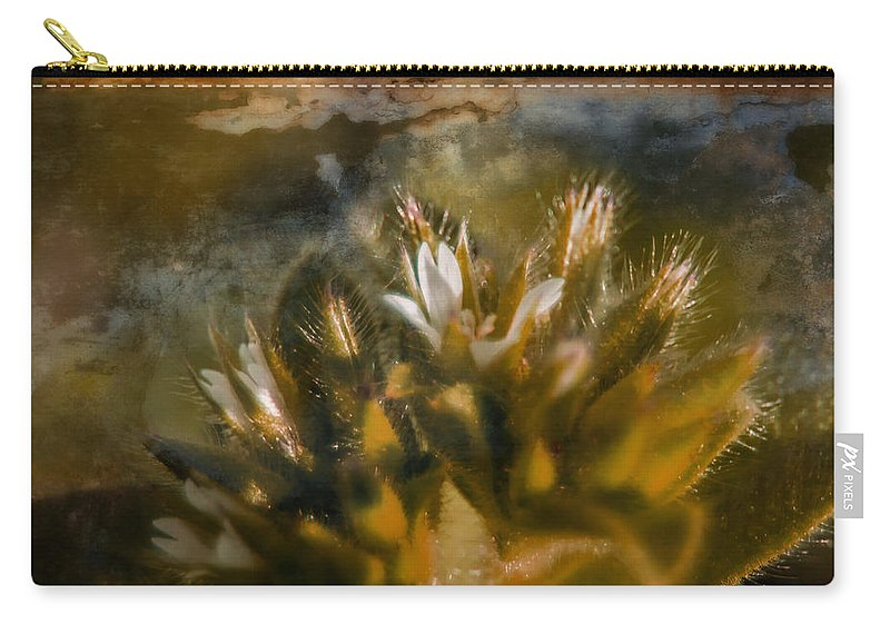 Photo Art Carry-all Pouch featuring the photograph Searching For An Identity by Mick Anderson