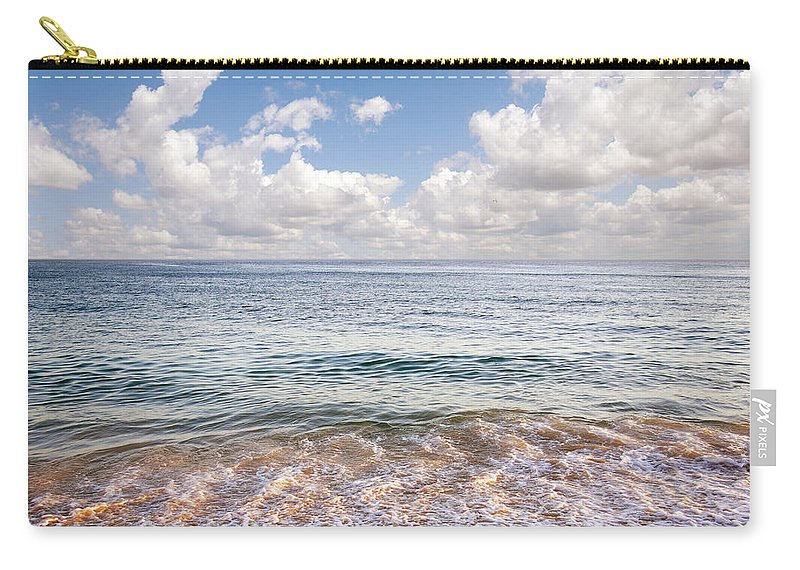 Background Carry-all Pouch featuring the photograph Seascape by Carlos Caetano