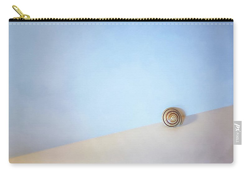 Seashell Carry-all Pouch featuring the photograph Seashell by the Seashore by Scott Norris