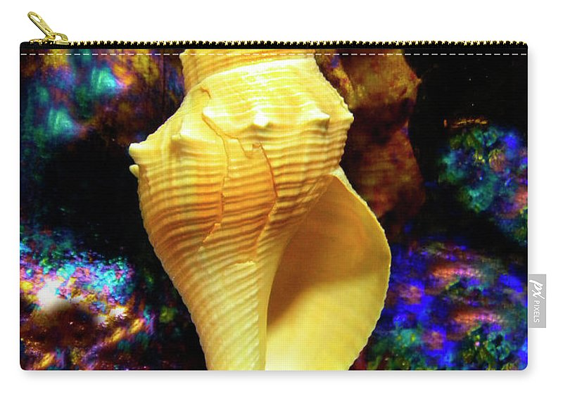 Frank Wilson Carry-all Pouch featuring the photograph Seashell by Frank Wilson