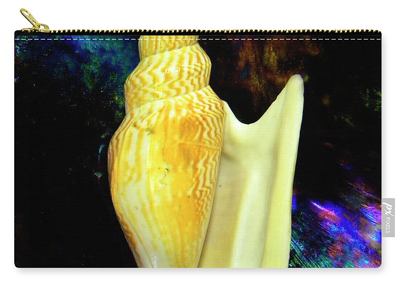 Frank Wilson Carry-all Pouch featuring the photograph Seashell Strombus Listeri by Frank Wilson