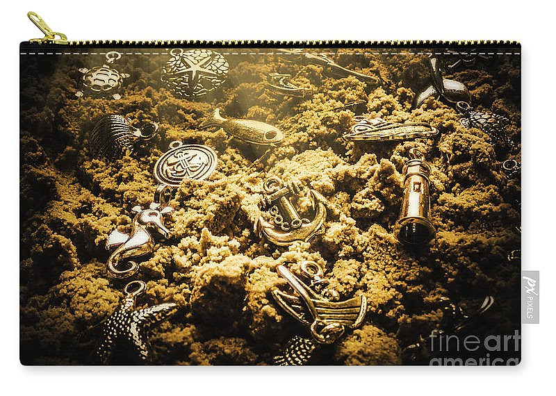 Sea Carry-all Pouch featuring the photograph Seaside Of Creative Charms by Jorgo Photography - Wall Art Gallery
