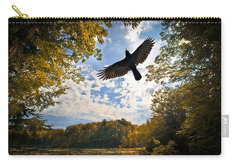 Landscape Carry-all Pouch featuring the photograph Season Of Change by Bob Orsillo