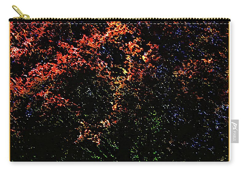 Autumn Carry-all Pouch featuring the digital art Seattle Chateau Ste Michelle Tree by Joan Minchak