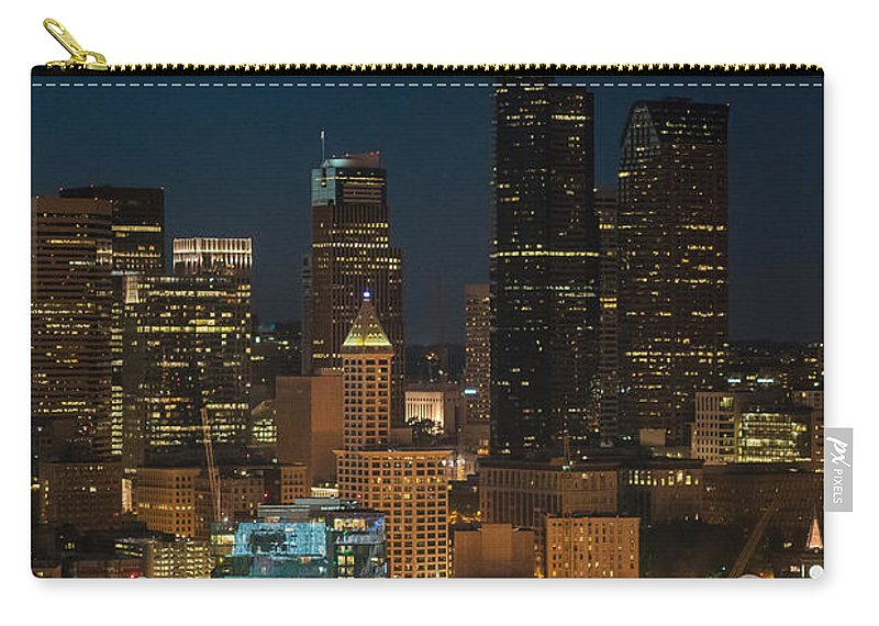 Seattle Carry-all Pouch featuring the photograph Seattle Seahawks Where The Magic Happens by Mike Reid