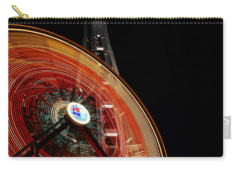 Seattle Carry-all Pouch featuring the photograph Seattlelights by David Lee Thompson