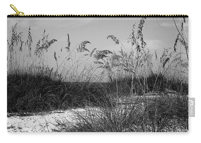 Sand Carry-all Pouch featuring the photograph Seclusion by Terri Mills