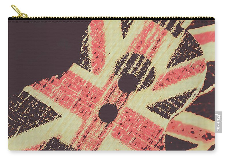 Britpop Carry-all Pouch featuring the photograph Second British Invasion by Jorgo Photography - Wall Art Gallery