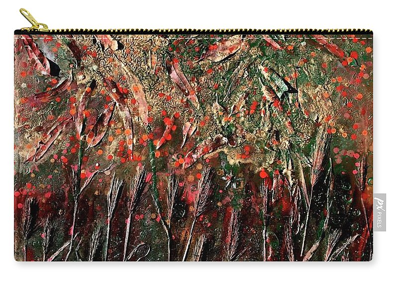 Nature Carry-all Pouch featuring the painting Secondavera by Roberto Del Fabbro