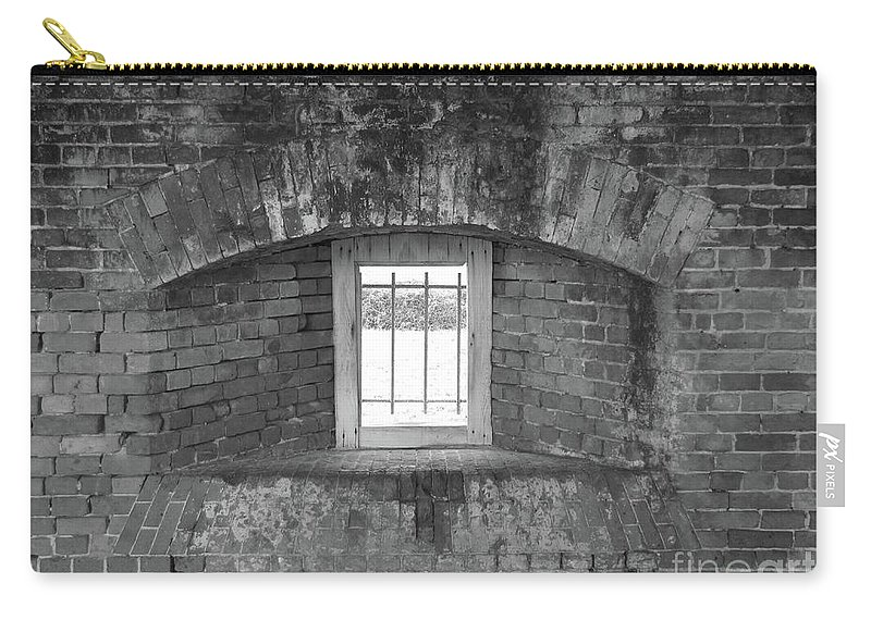Window Carry-all Pouch featuring the photograph Secret Window by Michelle Powell