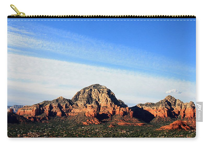 Sedona Carry-all Pouch featuring the photograph Sedona Afternoon by Joe Kozlowski