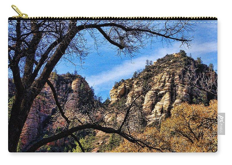 Sedona Carry-all Pouch featuring the photograph Sedona Arizona II by Jon Berghoff