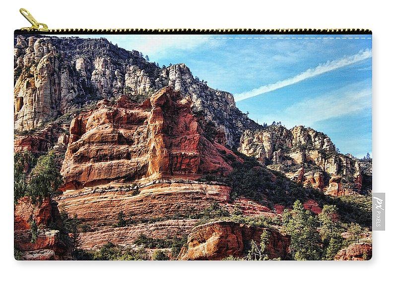 Sedona Carry-all Pouch featuring the photograph Sedona Arizona IIi by Jon Berghoff