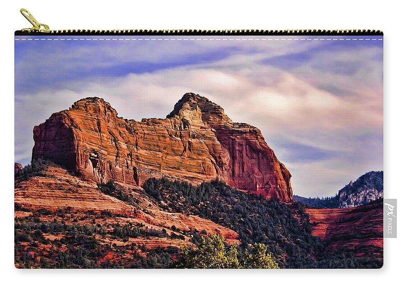 Sedona Carry-all Pouch featuring the photograph Sedona Arizona Vii by Jon Berghoff