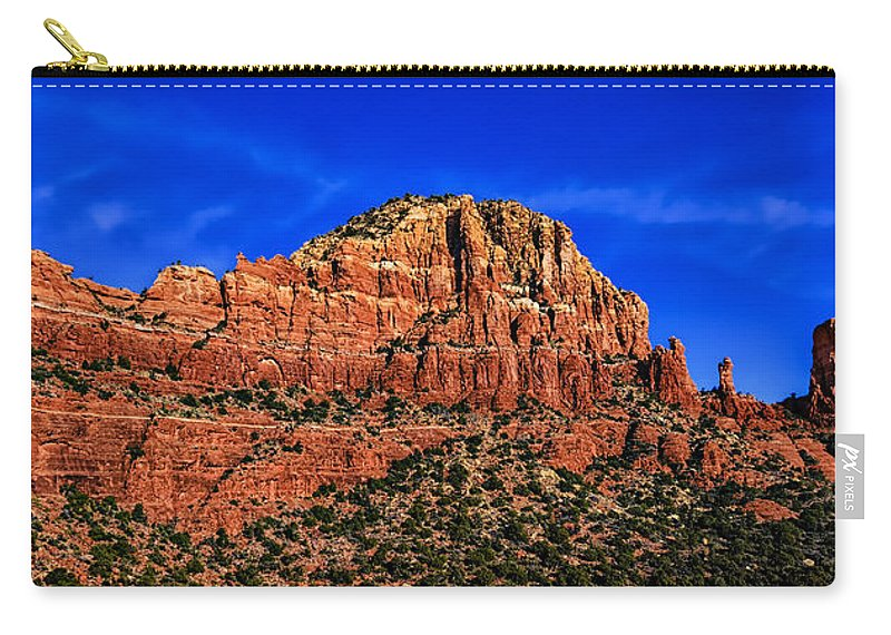 Mark Myhaver Photography Carry-all Pouch featuring the photograph Sedona Extravaganza by Mark Myhaver
