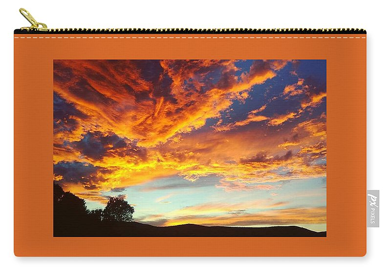 Life Carry-all Pouch featuring the digital art Sedona by Kristina Gerth