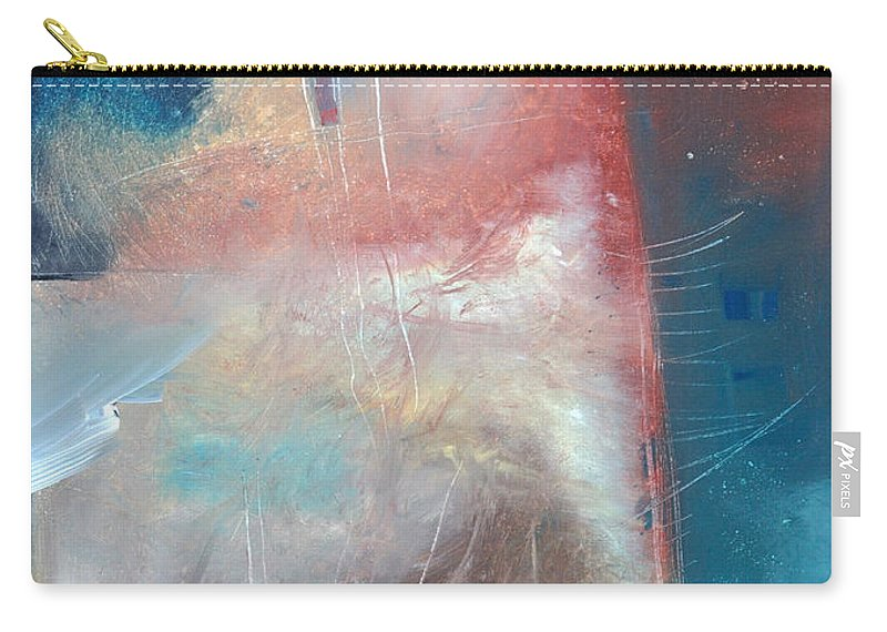 Brown Carry-all Pouch featuring the painting See What Brown Can Do For You by Tim Nyberg