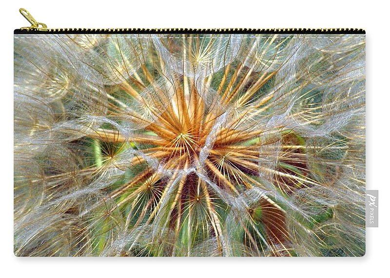 Wildflower Carry-all Pouch featuring the photograph Seeds by Marty Koch