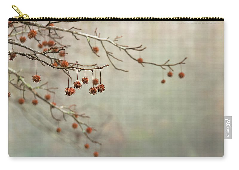 Autumn Carry-all Pouch featuring the photograph Seeds Of Fall by MotionOne Studios