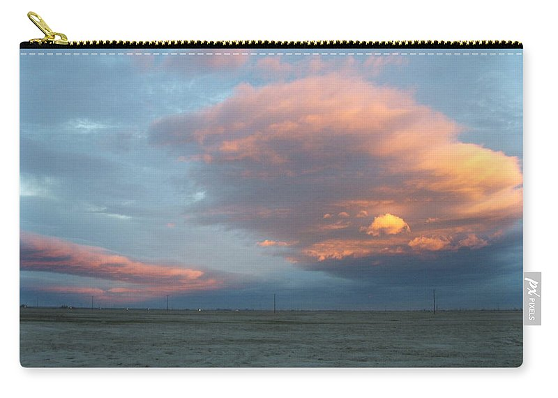 Desert Carry-all Pouch featuring the photograph Self-abandoned by Shari Chavira