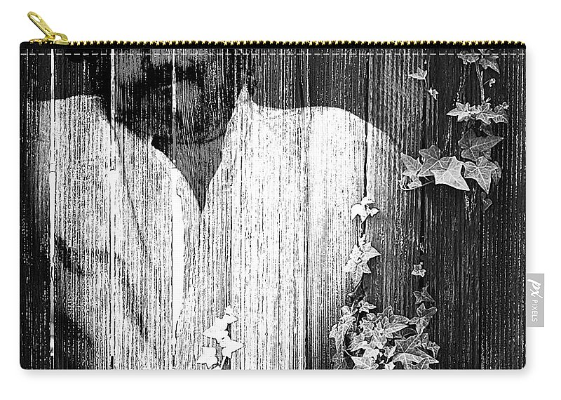Clay Carry-all Pouch featuring the photograph Self Portrait by Clayton Bruster