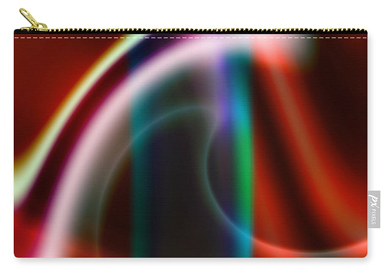 Art Carry-all Pouch featuring the digital art Semblance by Candice Danielle Hughes
