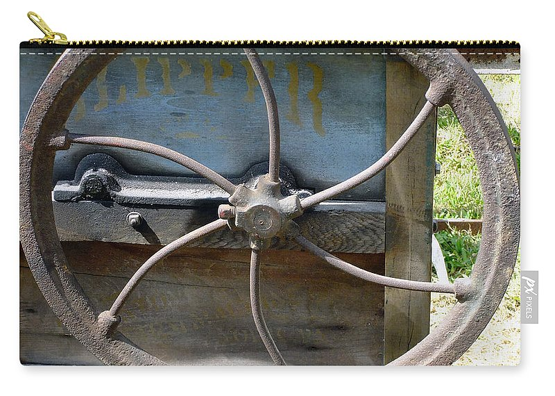 Agriculture Carry-all Pouch featuring the digital art Sending To The War by RC DeWinter