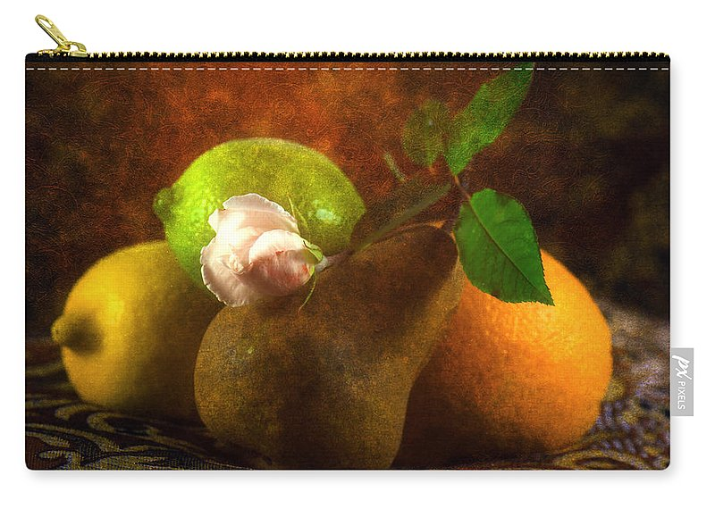 Sensual Carry-all Pouch featuring the photograph Sensual by Georgiana Romanovna