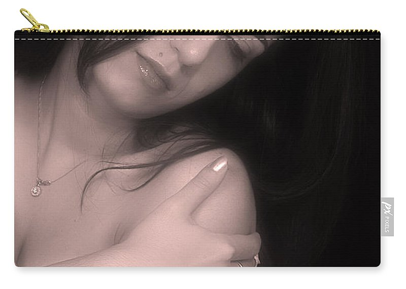 Clay Carry-all Pouch featuring the photograph Sensual Lmorn by Clayton Bruster
