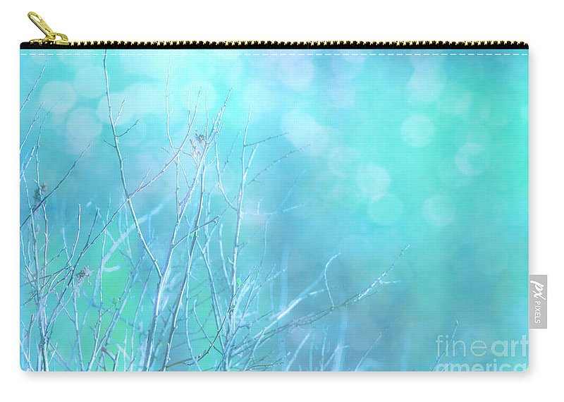 Blue Carry-all Pouch featuring the photograph Serene by Beve Brown-Clark Photography