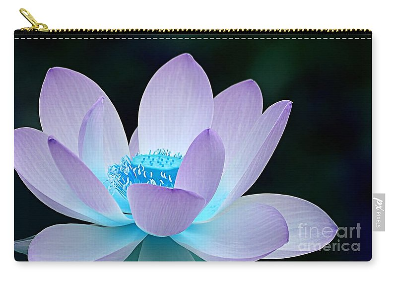 Flower Carry-all Pouch featuring the photograph Serene by Jacky Gerritsen