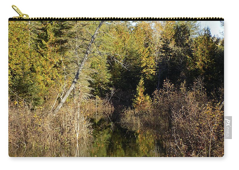 Wetlands Carry-all Pouch featuring the photograph Serene Scene by William Tasker