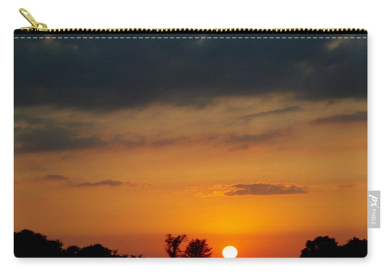 Carry-all Pouch featuring the photograph Serengeti Sunset by Jenny Gandert