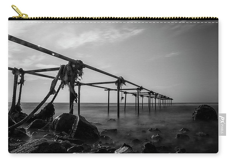 Bridge Carry-all Pouch featuring the photograph Serenity 2 by Jane Svensson