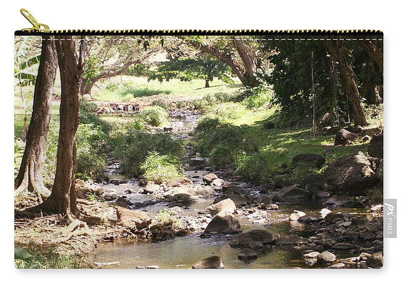 Kauai Carry-all Pouch featuring the photograph Serenity by Amy Fose