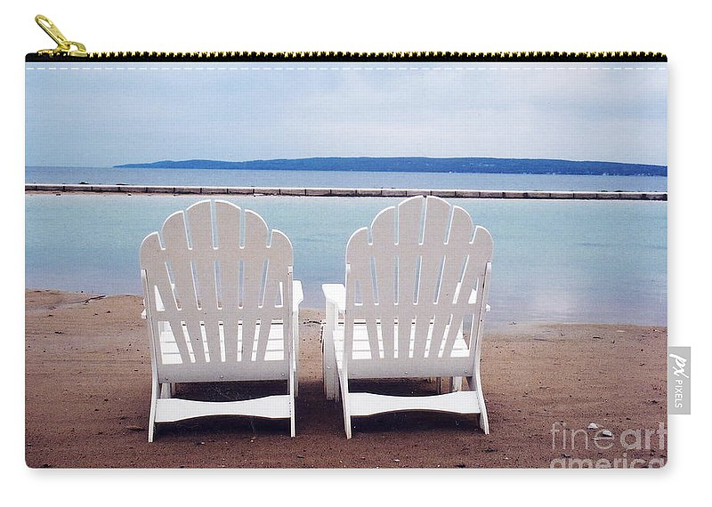 Beach Chair Carry-all Pouch featuring the photograph Serenity by Crystal Nederman