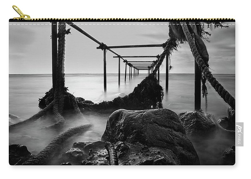 Bridge Carry-all Pouch featuring the photograph Serenity by Jane Svensson