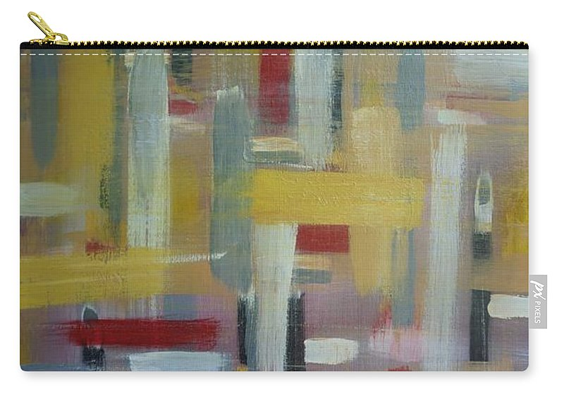 Abstract Carry-all Pouch featuring the painting Serenity by Jimmy Clark