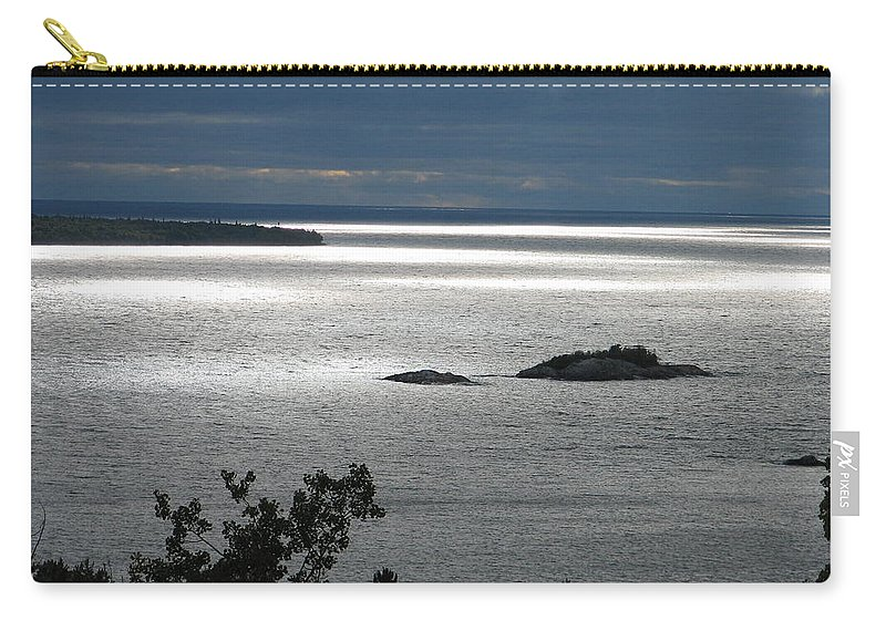 Lake Carry-all Pouch featuring the photograph Serenity by Kelly Mezzapelle