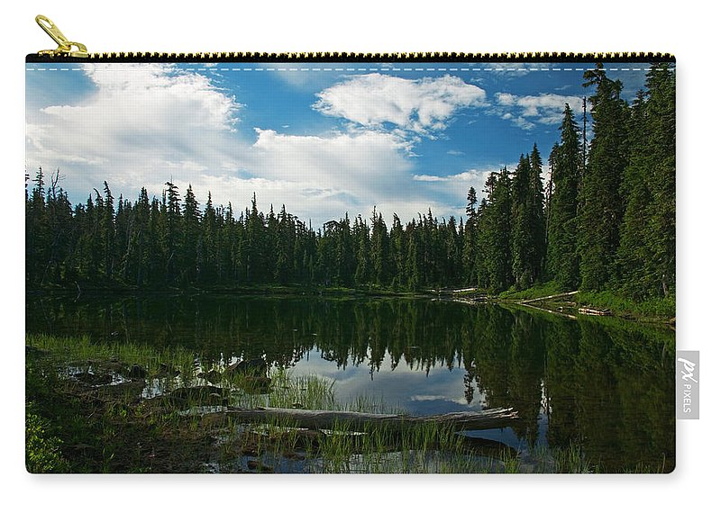 Lake Carry-all Pouch featuring the photograph Serenity by Randall Ingalls