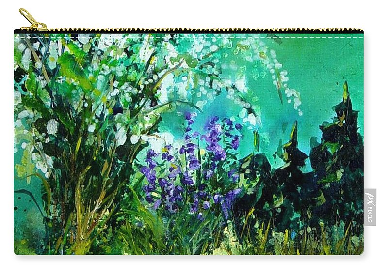 Tree Carry-all Pouch featuring the painting Seringa by Pol Ledent