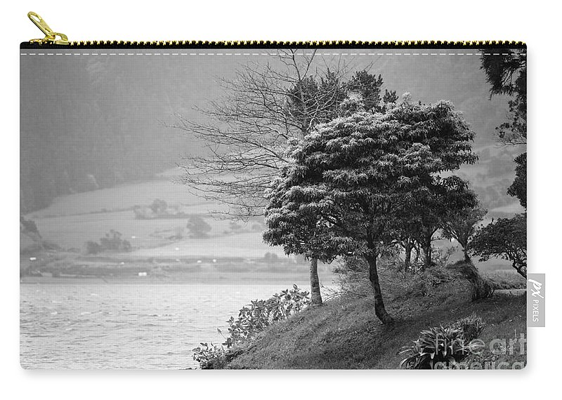 Azoren Carry-all Pouch featuring the photograph Sete Cidades Lakes by Gaspar Avila