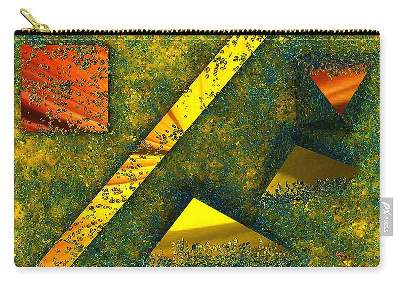 Background Carry-all Pouch featuring the digital art Setissimo 1 by Max Steinwald