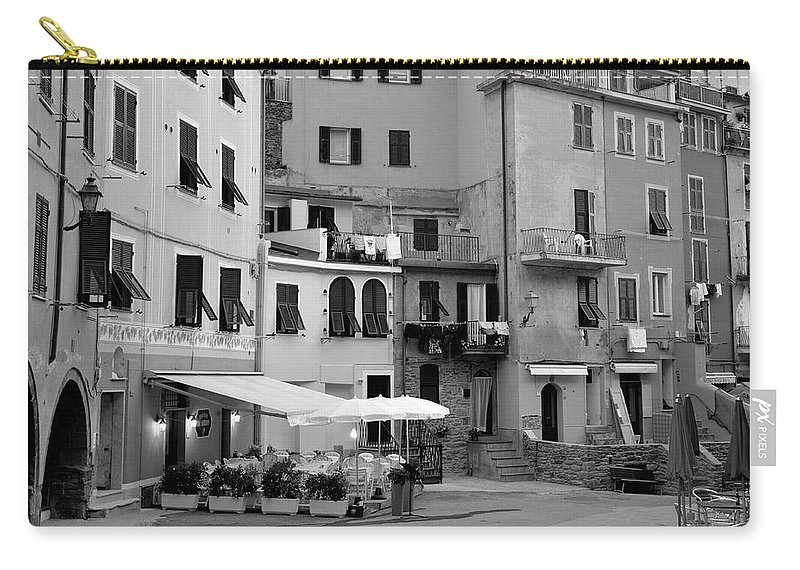 Italy Carry-all Pouch featuring the photograph Setting The Scene by Corinne Rhode