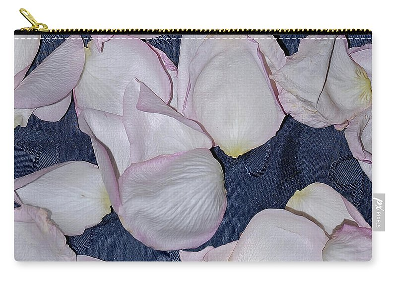 Roses Carry-all Pouch featuring the digital art Seven Days After by DigiArt Diaries by Vicky B Fuller