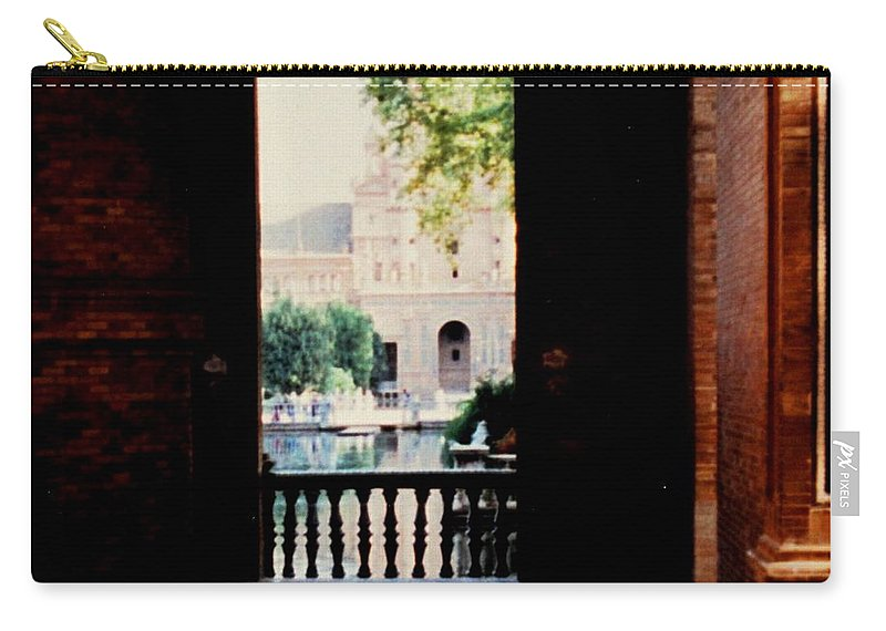 Seville Carry-all Pouch featuring the photograph Seville by Ian MacDonald