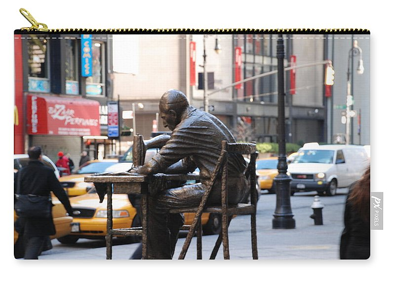Sewing Machime Carry-all Pouch featuring the photograph Sewing Sculpture by Rob Hans
