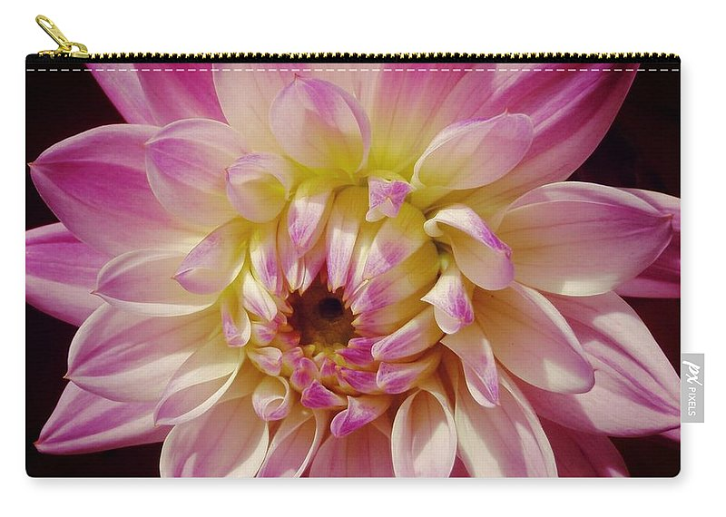 Nantucket Carry-all Pouch featuring the photograph Shades Of Pink by JAMART Photography