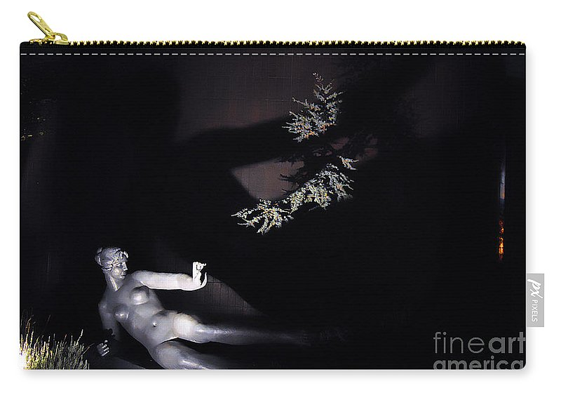 Clay Carry-all Pouch featuring the photograph Shadow Art by Clayton Bruster