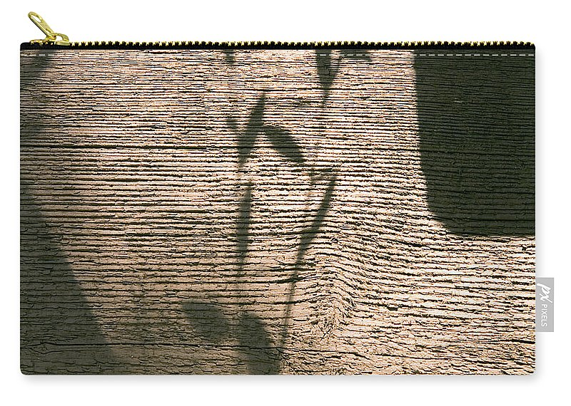 Carry-all Pouch featuring the photograph Shadow by Clayton Bruster